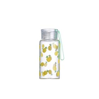 Ester高硼硅玻璃便携水壶-菠萝(280ml)