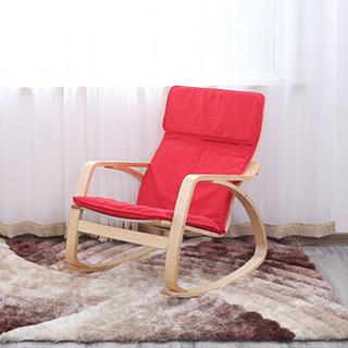 Hayes实木系列波昂摇椅