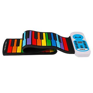 Kevin儿童益智玩具系列49键手卷钢琴
