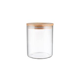 Gemma厨房竹木系列密封储物罐-直身型(450ml)