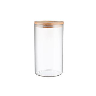 Gemma厨房竹木系列密封储物罐-直身型(650ml)