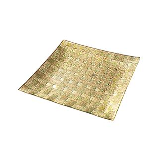 Gilding鎏金系列玻璃果盘