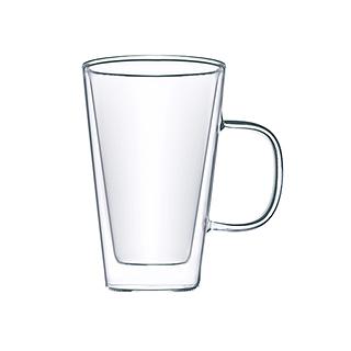 Clarence经典双层耐热玻璃杯(500ml)