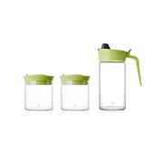Gracia高硼硅玻璃系列厨房调味套装(3件组)