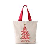 Lottie棉麻系列圣诞环保袋-圣诞树