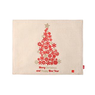 Christmas圣诞系列加厚餐垫-圣诞树