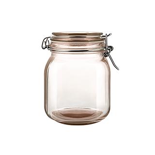 Luce北欧风玻璃储物罐(1000ml)