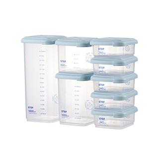Kenny分类多用储物罐(8件组)
