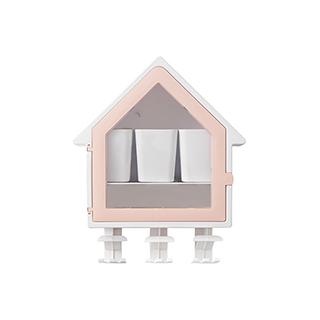 Galen省空间系列吸壁式牙刷收纳屋