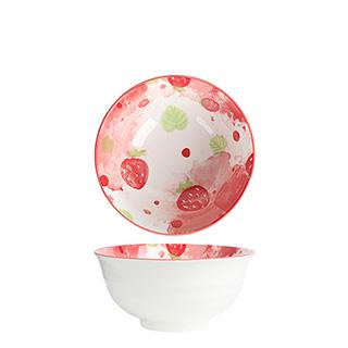 8英寸可爱草莓碗