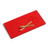 ABS高级无纺布环保红包-囍