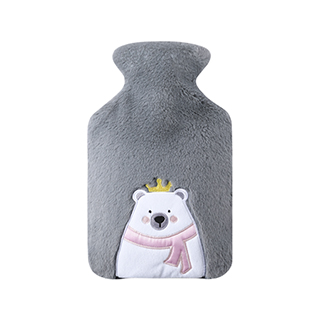 Warmth热水袋经典保护套-皇冠熊