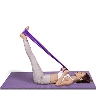 乳胶瑜伽拉力带