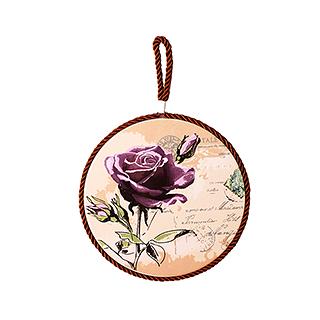 Paddy彩陶系列防水防滑锅垫-玫瑰