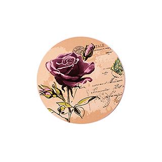 Paddy彩陶系列吸水防滑杯垫-玫瑰