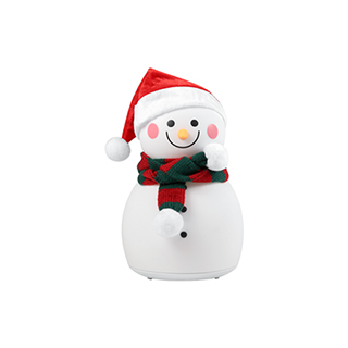 Christmas圣诞卡通硅胶灯-可爱雪人