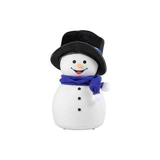 Christmas圣诞卡通硅胶灯-帅气雪人