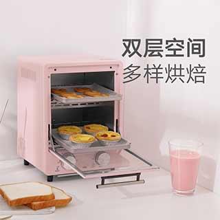 Diego复古双层立式烤箱(9L)