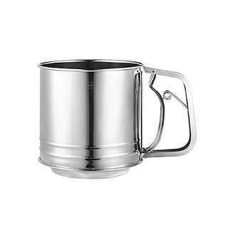 Cooker库克厨房用具系列-不锈钢粉筛杯(大号)