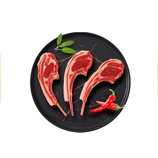 意式经典醇香羊排-500g(6根)