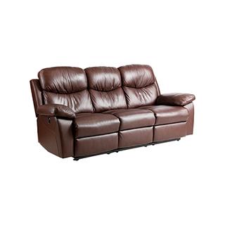 Stoker 头等舱尊宾系列多功能电动真皮沙发(三人)