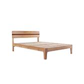Wade天然白橡木系列经典实木床(1.2米)