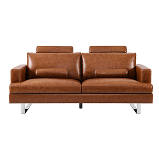Bauhaus牛皮系列复古沙发(双人位)
