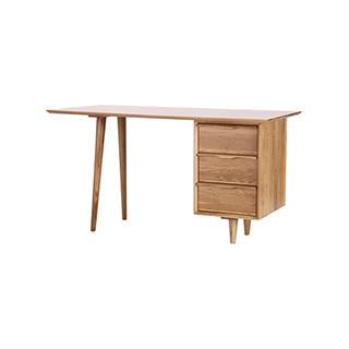 Wade白橡木系列实木书桌-经典款
