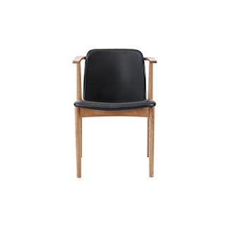 Spencer水曲柳系列软包休闲椅-经典款