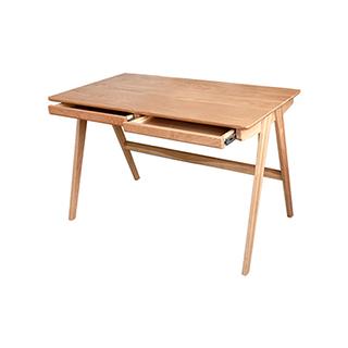Swiss北欧风白橡木书桌