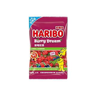 哈瑞宝甜莓狂想橡皮糖(综合莓果味)