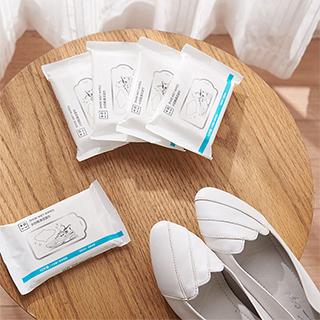 +的意义强力去污小白鞋清洁湿巾(6包装)